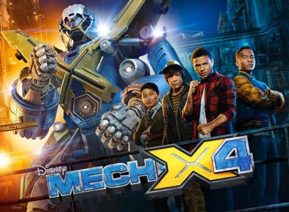 Mech-X4 2x04 Espa&ntildeol Disponible