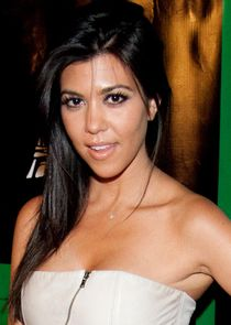 In Keeping Up with the Kardashians as Kourtney Kardashian