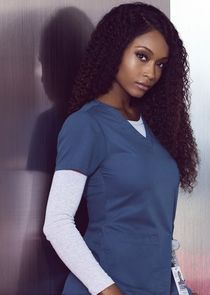 In Chicago Med as Nurse April Sexton