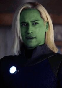 In Supergirl as Querl Dox / Brainiac-5
