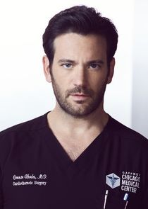 In Chicago Med as Dr. Connor Rhodes