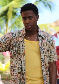 In Death in Paradise as Trainee Officer Marlon Pryce