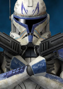 In Star Wars: The Clone Wars as Captain Rex