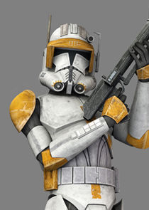 In Star Wars: The Clone Wars as Cody