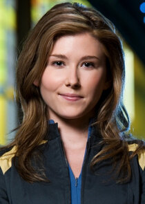 In Stargate Atlantis as Dr. Jennifer Keller