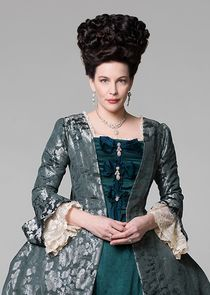 In Harlots as Lady Isabella Fitzwilliam