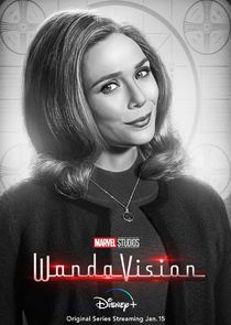 In WandaVision as Wanda Maximoff / The Scarlet Witch
