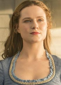 In Westworld as Dolores Abernathy