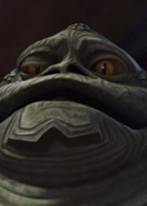 In Star Wars: The Clone Wars as Jabba the Hutt