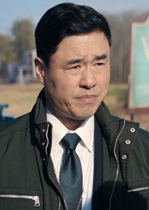 In WandaVision as Agent James E. Woo