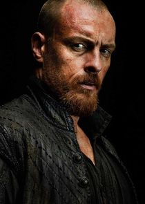 In Black Sails as Captain Flint / James McGraw