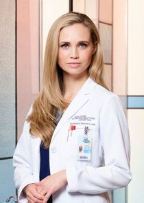 In The Good Doctor as Dr. Morgan Reznick