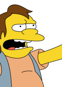 In The Simpsons as Nelson Muntz