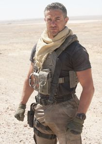 In Strike Back as Sgt. Thomas