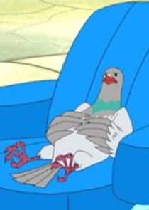 In Mike Tyson Mysteries as Pigeon