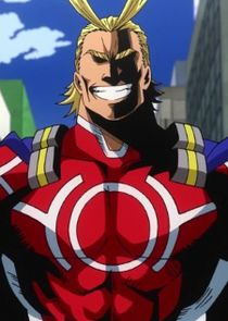 In My Hero Academia as All Might