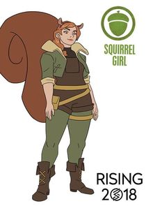 In Marvel Rising: Initiation as Doreen Green / Squirrel Girl