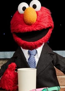 In The Not Too Late Show with Elmo as Elmo / Host