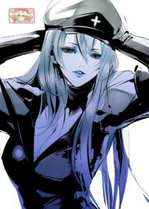 In Akame ga Kill! as Esdeath