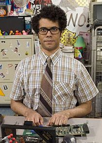 In The IT Crowd as Maurice Moss