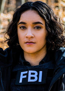 In FBI: Most Wanted as Special Agent Hana Gibson
