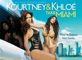 Kourtney and Khloe Take Miami
