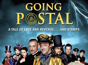 Sir Terry Pratchett's 'Going Postal'