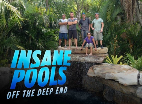 Insane pools off the deep end next episode for Pool design tv show