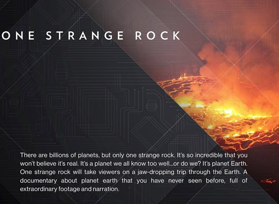 One Strange Rock TV Show - Season 1 Episodes List - Next Episode