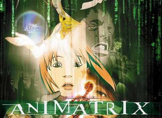 Animatrix serie aparecida en 2003, sobre el universo Matrix, la película.