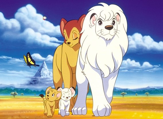 Image result for kimba the white lion